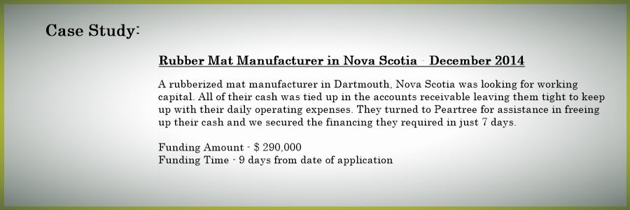 manufacturing business financing casestudy